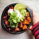 mexican sweet potato bowl
