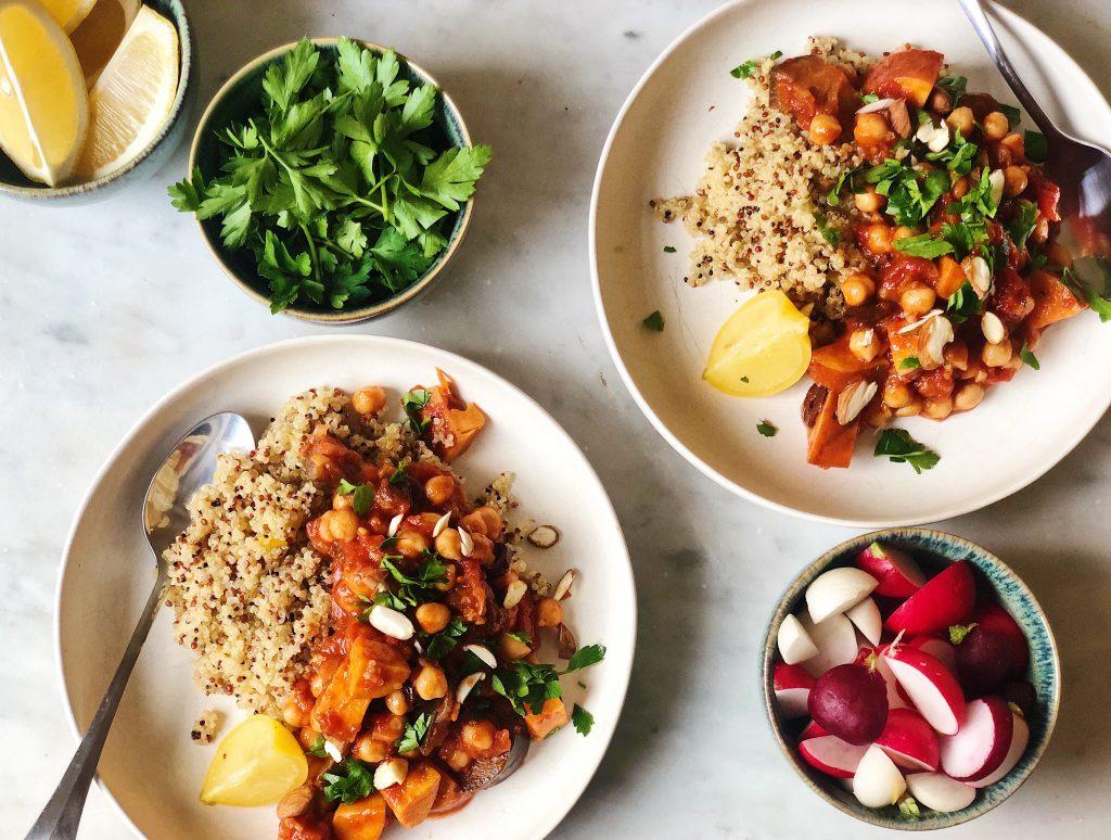 Marrocan vegetable stew