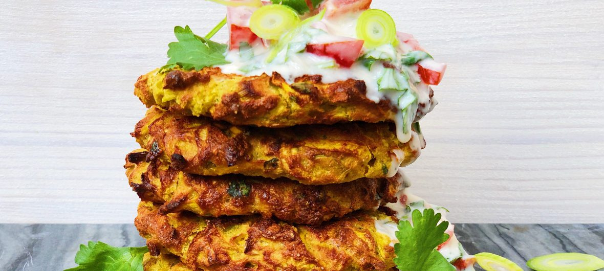 Indian oven fritters