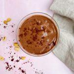 Chocolate banana pb smoothie (bowl)